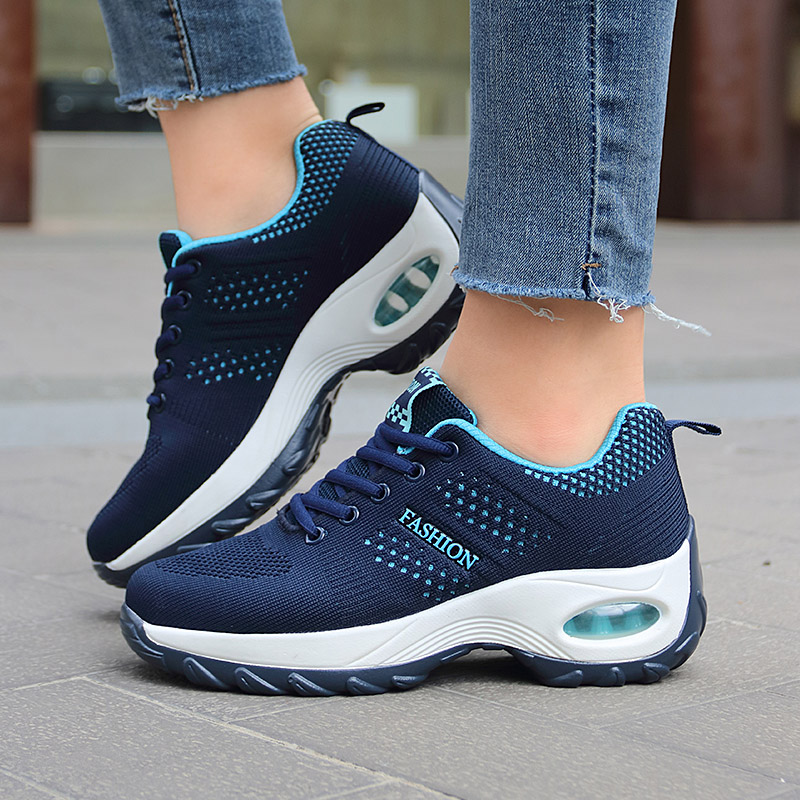 Women Platform Shoes Breathable Lightweight Sneakers For Cushion Woman Fashion Female Casual Tenis Zapatillas Mujer Plataforma 1