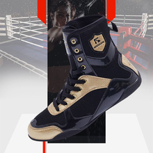 Boxing-Boots Wrestling-Sneakers Martial-Arts Fighting Taekwondo Professional Breathable