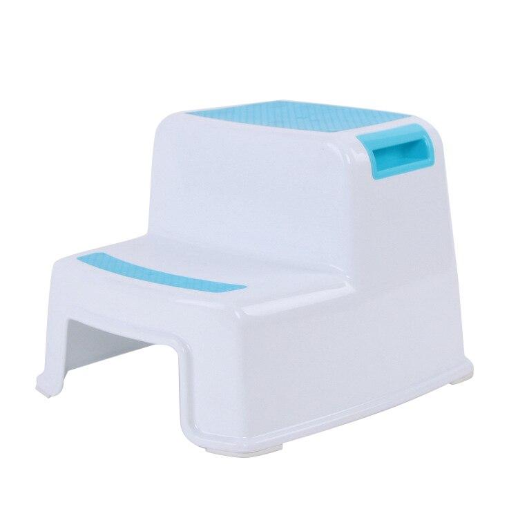 2 Step Stool Toddler Kids Stool Toilet Potty Training Slip Resistant For Bathroom Kitchen JAN88
