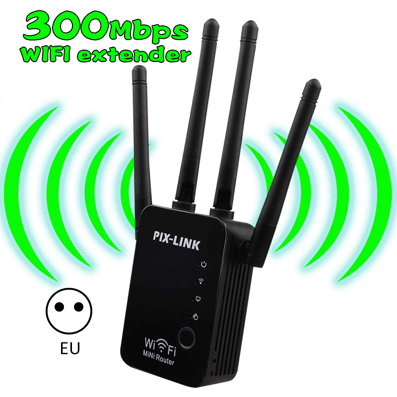 Wireless Wi-fi 802.11n 300mbps 2.4g Firewall Home Router Repeater Extender Repetidor Booster For Xiaomi Wi Fi Wifi Versterker