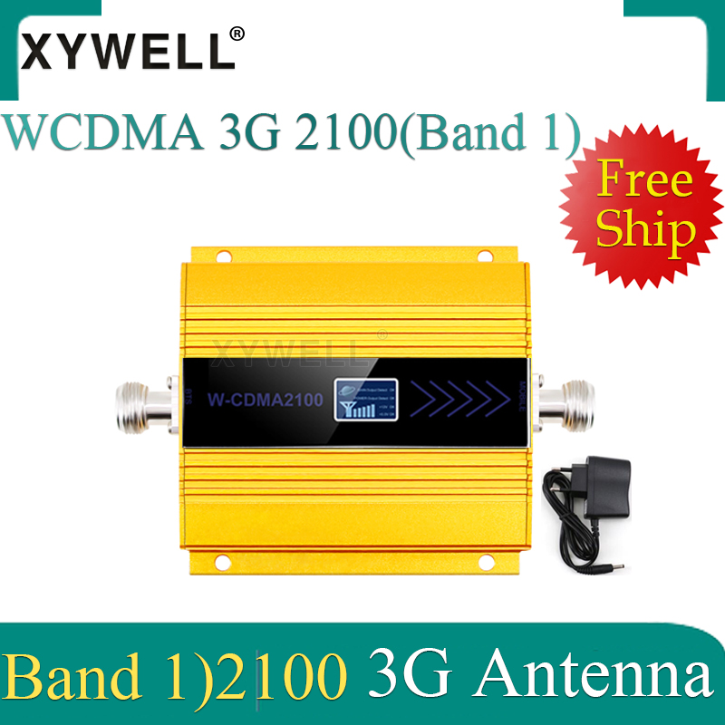 New!! 3G Cellular Signal Booster 3g 2100 Mobile Signal Booster LTE WCDMA UMTS 2100Mhz Gsm Signal Repeater Amplifier