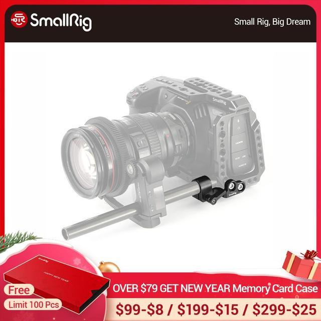 Smallrig 15 ミリメートル blackmagic ための単一デザインポケットシネマカメラ bmpcc 4 18k ケージ smallrig ケージ 2203/2254/2255   2279