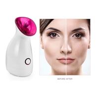 Hot Spray Facial Steamer Spa Beauty Instrument Nano Mist Sprayer Remove Face Dirt Cleaning Pores Moisturizing Skin Care Salon