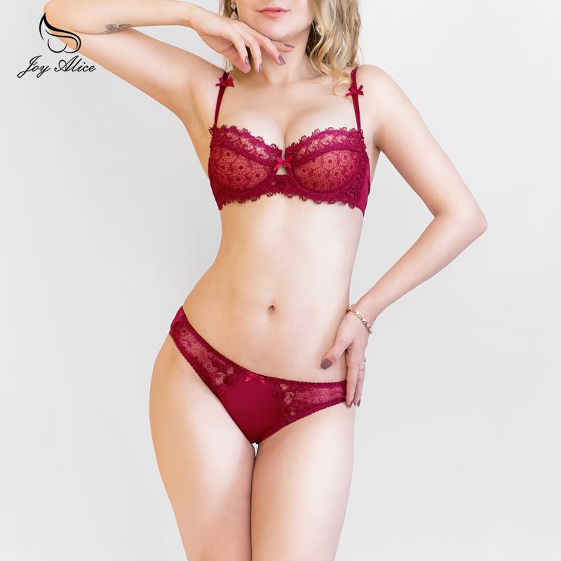 New Hot lace   bra     set     Bra   lace   bra     briefs     set   lace sexy   bras   ladies adjustable Push up   bra     sets   women lingerie