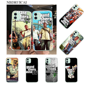 NBDRUICAI Grand Theft Auto Custom Photo Soft Phone Case for iPhone 11 pro XS MAX 8 7 6 6S Plus X 5S SE XR cover image