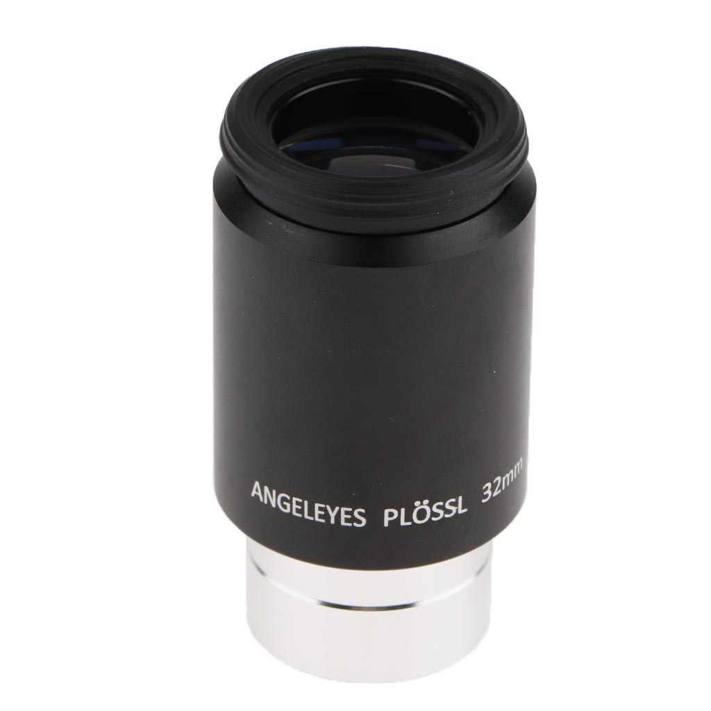 Telescope Eyepiece,Plossl Eyepiece Astronomy Telescope Lens Eyepiece Plossl 32mm with 1.25 Filter Thread