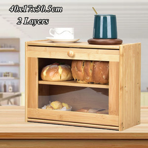 Storage Box Bamboo Bread Box B