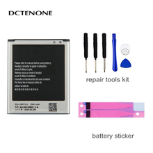 DCTENONE EB-L1M7FLU Phone Battery 1500mAh For Samsung Galaxy S3 Mini S3Mini GT-I8190 I8190 I8190N GT-i8200 i8200 original samsung eb l1m7flu battery for samsung galaxy s3 mini s3mini i8190 gt i8200 gt i8190 i8190n nfc 1500mah