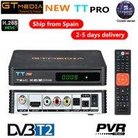 Russia GTMEDIA TT PRO DVB T2 Terrestrial TV Receiver Receptor Tuner Combo wifi DVBT2 H.265 DVB C TV BOX Decoder Youtube Biss AC3
