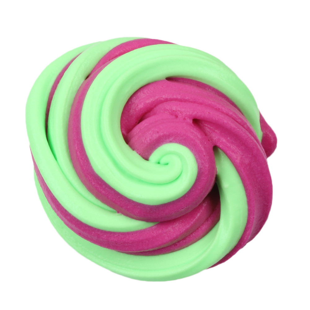 Beautiful Candy Floss Fluffy Stretchy Slime Decompression Mud Toy Stress Relief Adults Kids Toy Girly Heart Pinch Fun #A