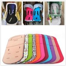 아기 유모차 좌석 쿠션 키즈 유모차 자동차 카트 높은 의자 좌석 트롤리 부드러운 매트리스 아기 유모차 쿠션 패드 액세서리