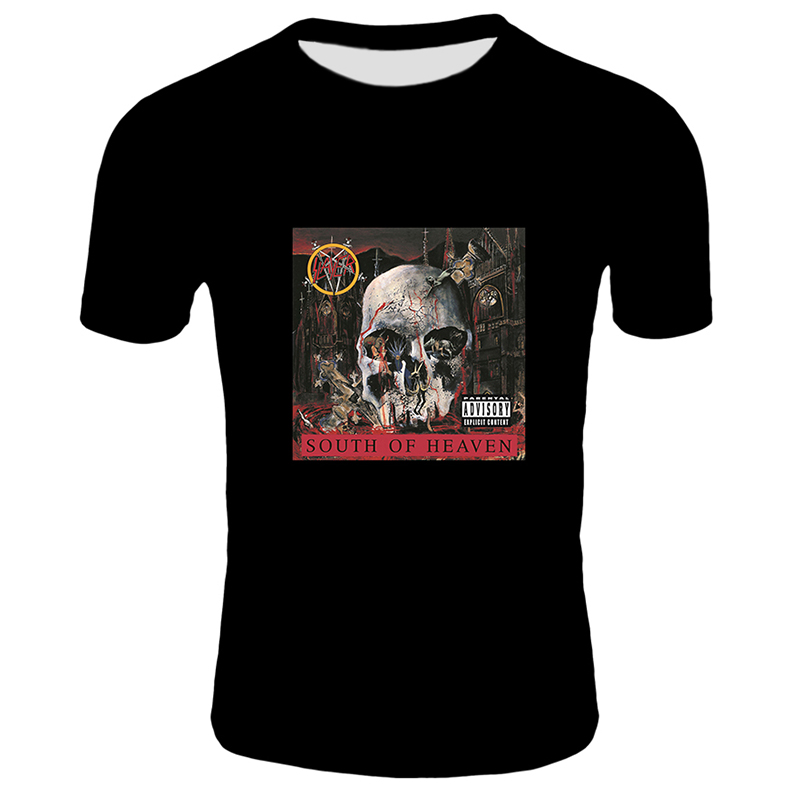 2019-Hot-SLAYER-T-Shirt-Men-Women-Summer-Casual-Skull-Printed-Tshirt-Short-Sleeve-Black-Tops