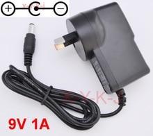 1PCS 9V 850mA 1A AC מתאם מתאם אספקת חשמל מטען קיר עבור CASIO LK300tv LK 100 LK 200 LK 210 AD 5 AD 5MLE AU Plug