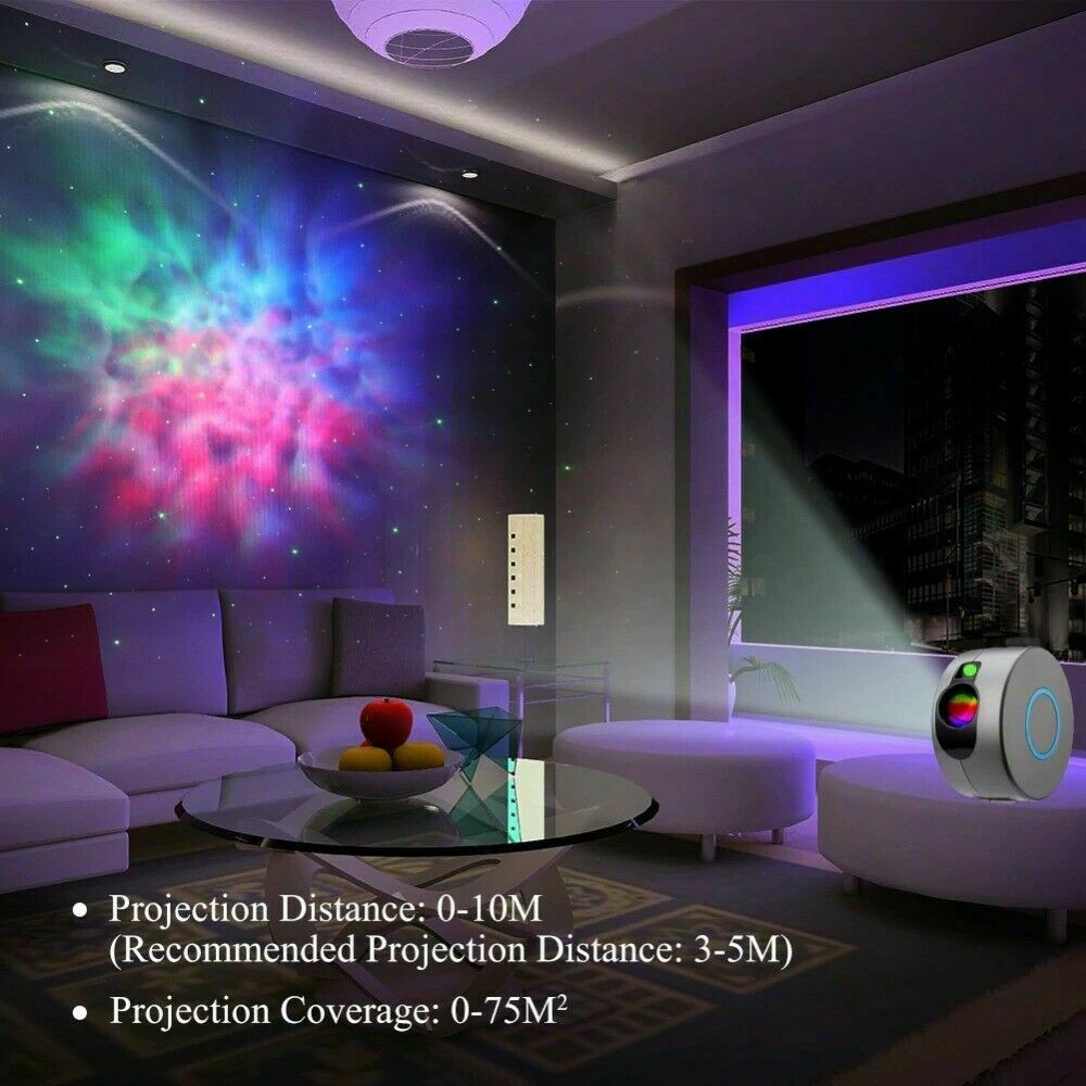 Starry Night Light Laser Projector For Kids 2