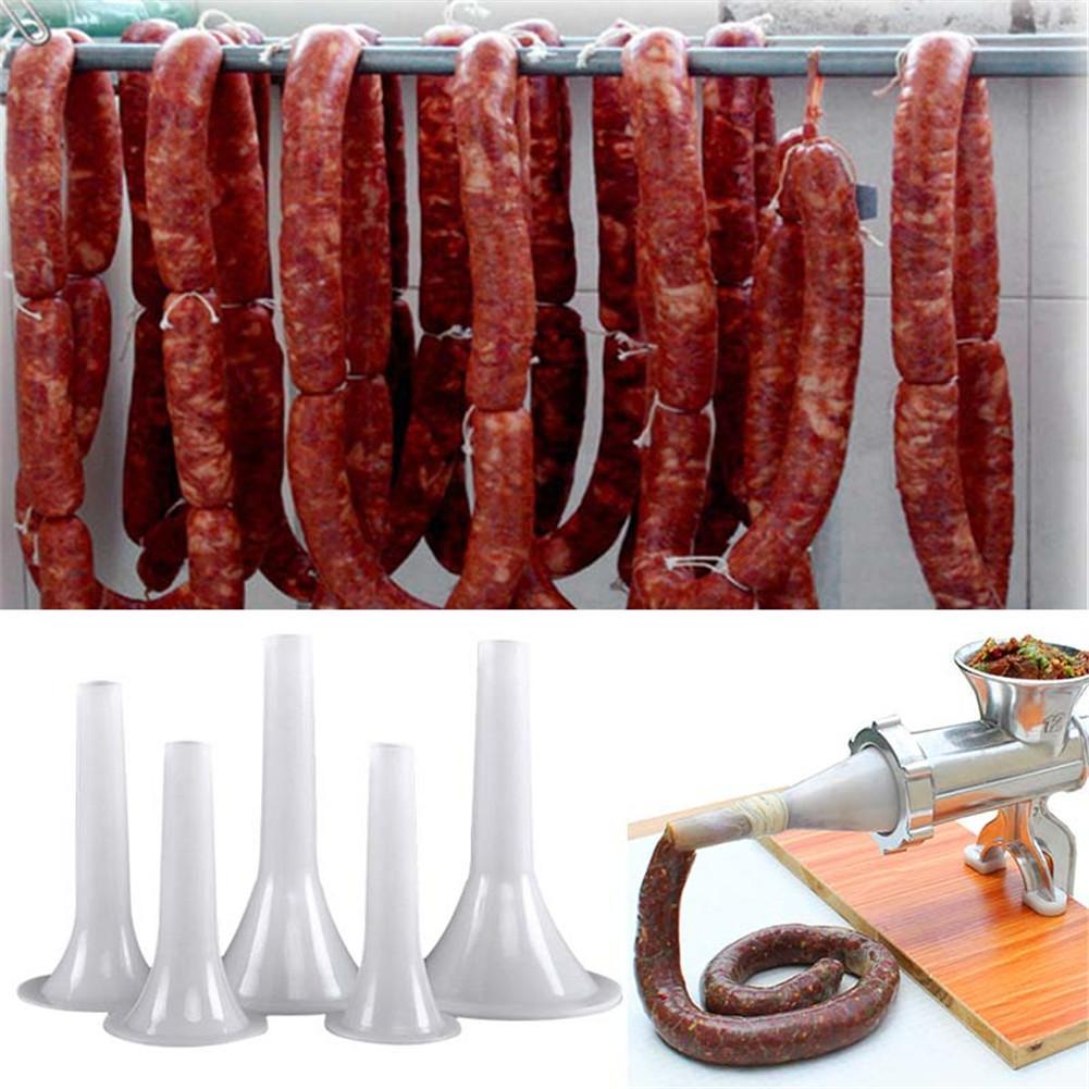 Насадки для мяса, Мясорубка заполняющая Воронка мясо колбаса, наполнители корпуса колбасы, колбаса, ветчина, дробилка, набор инструментов д...