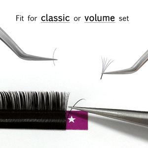 Image 5 - Abonnie All Size B/C/D/J curl 1 trays ,Individual natural Mink Eyelash Extension. Artificial Fake False Eyelashes