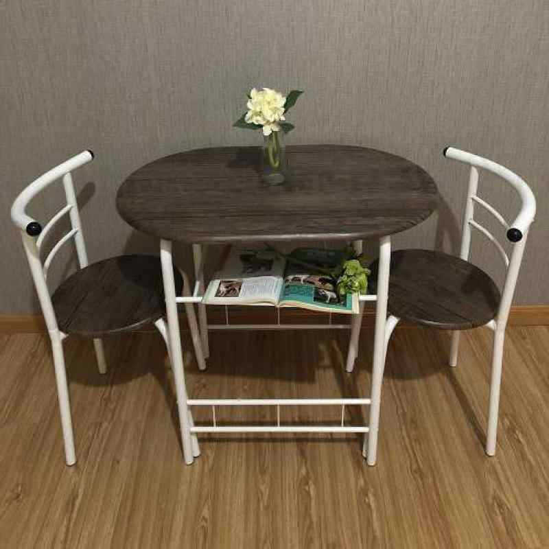 Table And Chair One Table Two Chairs Small Family Kitchen Couple Table And Chair Aliexpress