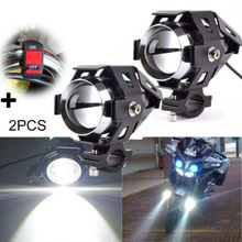 Headlight Motorcycle Auxiliary Light Fog Spotlight Motorcycle Headlight u5 Led Motorcycle Light