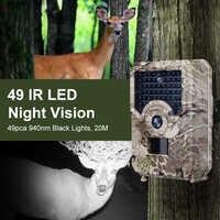 Caméra De traînée 940nm De Caca extérieur étanche IP56 1080p caméra De faune Vision nocturne Photo pièges caméra De chasse