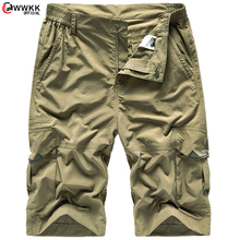 WWKK 2021 Summer New Quickdry Shorts Men Casual Jogger sweathshorts plus size Workout Gym High Quality Shorts