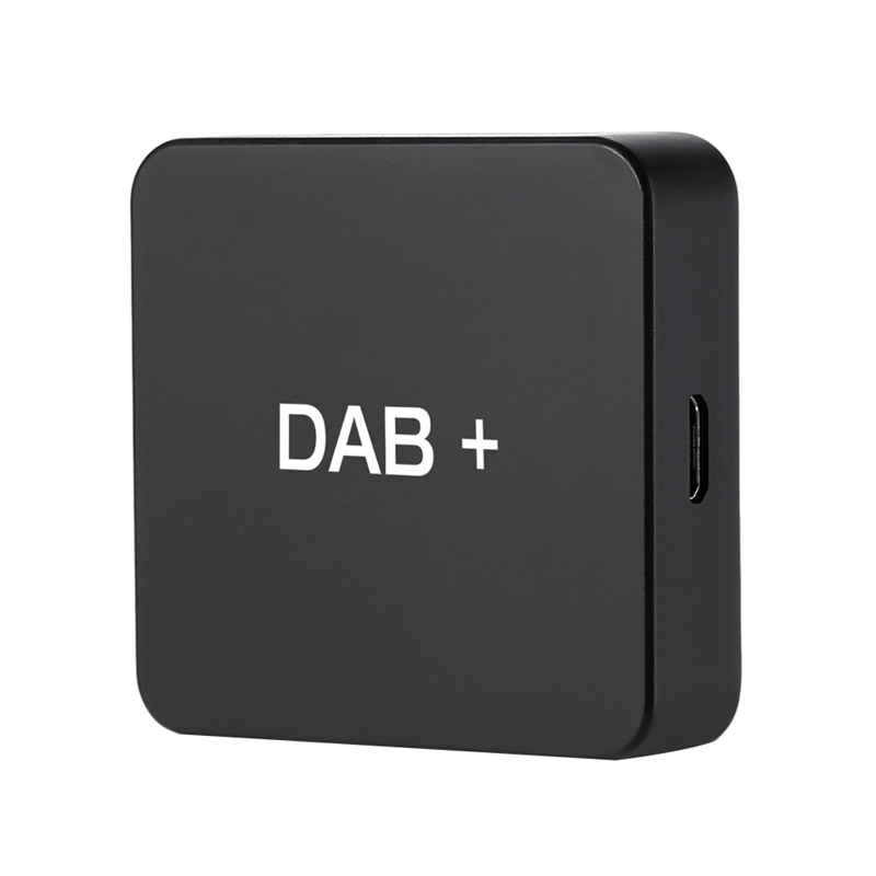 DAB+ Box Digital Radio Antenna Tuner for Car Radio Android 5.1 and Above FM Transmission USB Powered|Aerials| |  - title=