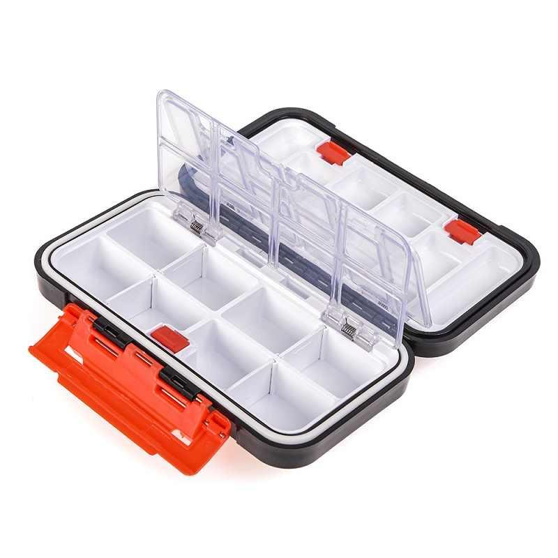 Waterproof Fishing Tackle Box Double-Sided Bait Lure Box