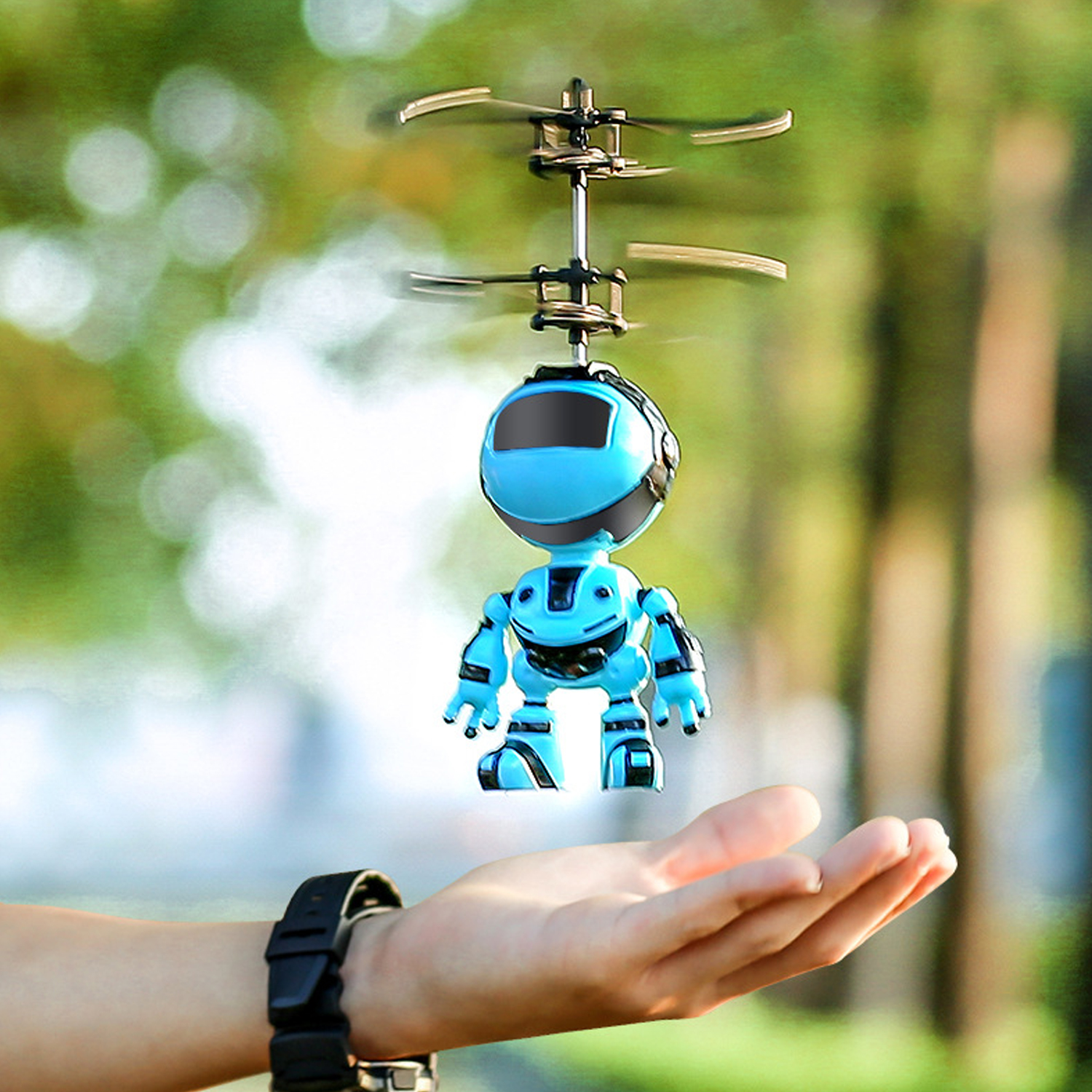 Kids Mini Infrared Induction Flying Ball Drone Remote Control Aircraft Helicopter Electronic Magic Hand Sensor Flying Robot Toy