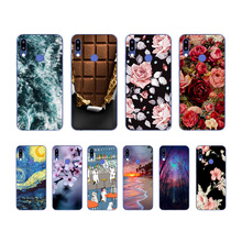 Soft Silicon TPU Case For Tecno Camon 11 Camon11 PRO Print Back Cover Pro Cartoon Patterned Shell
