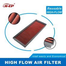 R EP Replacement Air Filter for VOLKSWAGEN TOURAN VW GOLF V VI TIGUAN SHARAN SCIROCCO PASSAT JETTA CC EOS 1K01269620D Washable