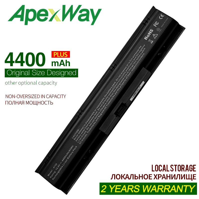 ApexWay 5200mAh 8 Cells 14.4V  Laptop Battery For HP Probook 4730s  4740s Series,633734-141 633734-421 HSTNN-I98C-7 HSTNN-LB2S