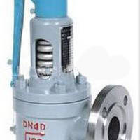 Cast steel steam safety valve Flange wire buckle with wrench spring full open safety valve steam boiler dedicated