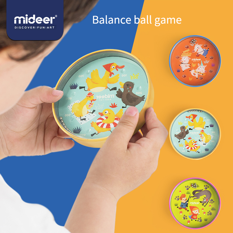 Mideer Baby Classic Toys Fairy Tale Endurance Iron 3Y+  Funny Balance Concentration Education Kids Balance Ball Games