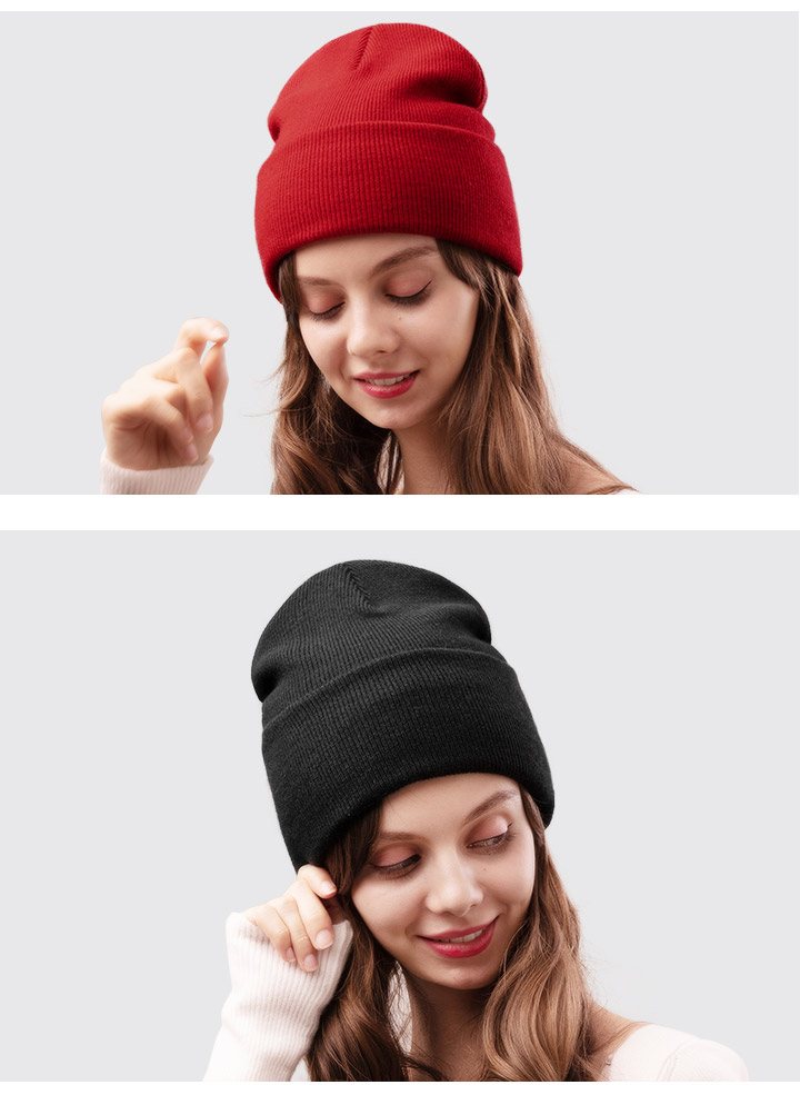 FURTALK Winter Hats for Women Men Knitted Beanie Hat Cap for Girls Female and Male Skullies Couples Stocking Hats Cap 36