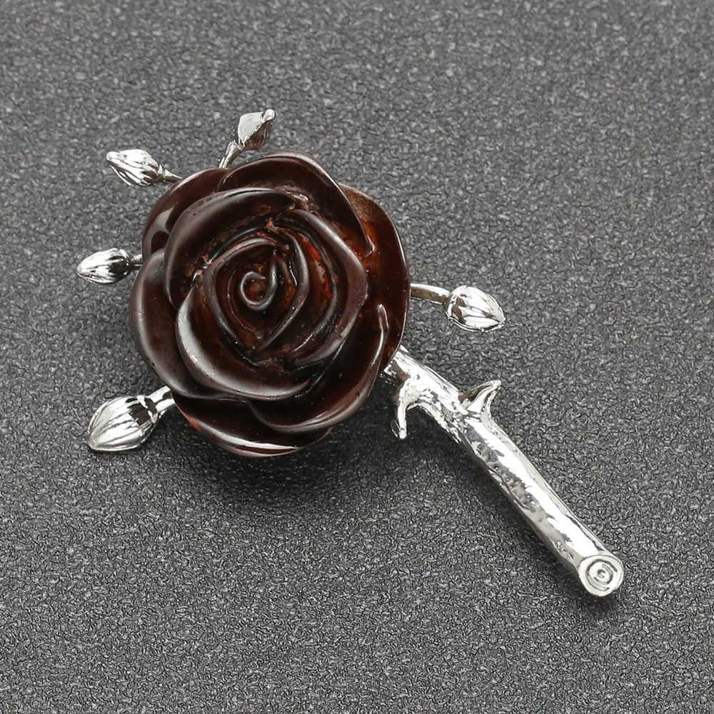 Game Of Thrones broche Ser Loras Tyrell chanson de glace et de feu maison Highgarden Vintage Poison Rose broche chevalier fleurs en gros