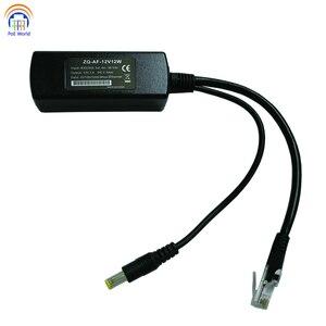 Image 4 - 802.3af Gigabit PoE Bộ Chia Cổng 12 V Đầu Ra. Nguồn Qua Cho Không PoE Thiết Bị Như IP Để 328Ft Cho PoE