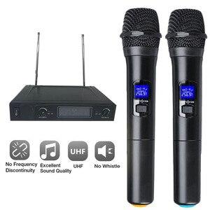 Wireless Microphone System Dua