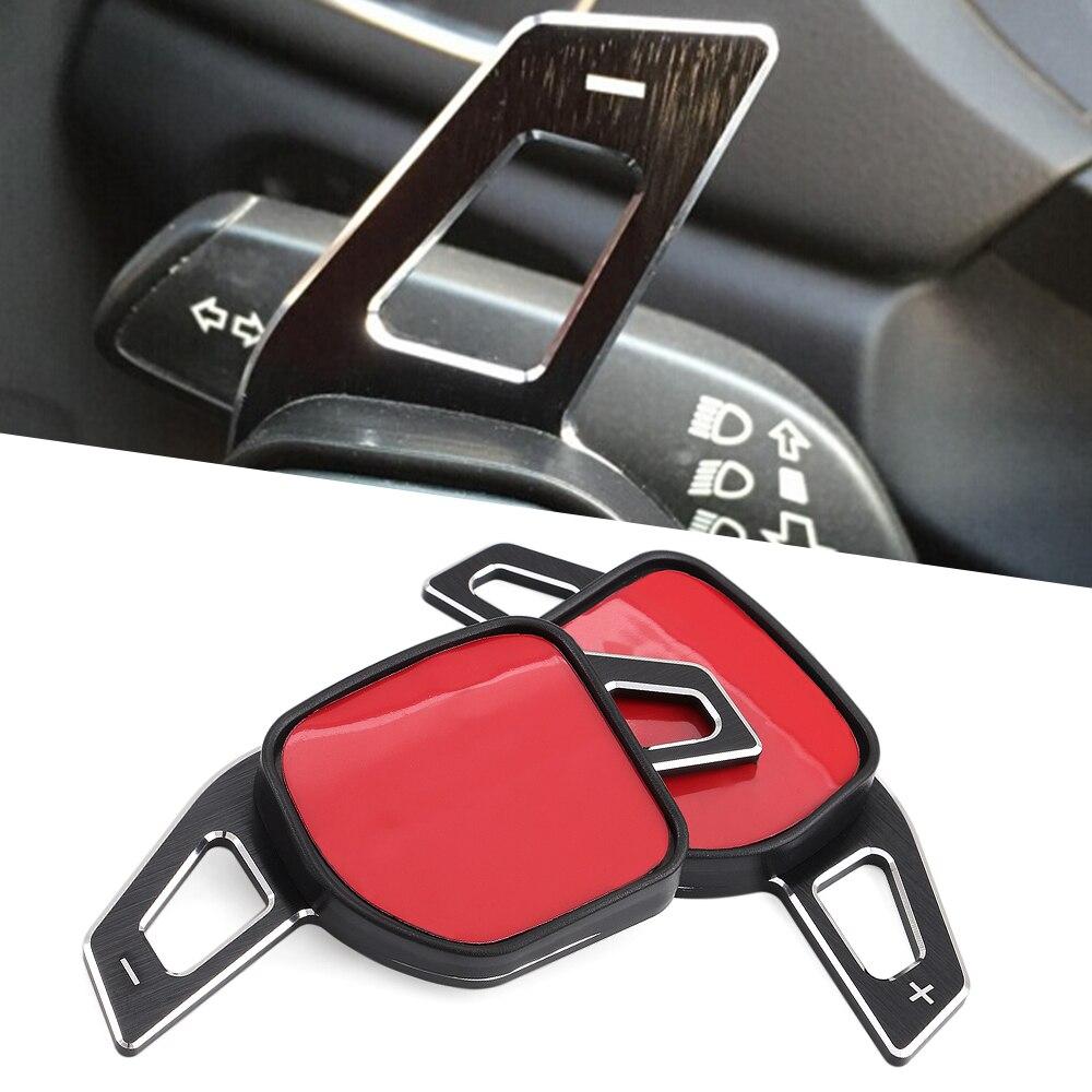 Автомобильный руль автомобиля расширение Манетки алюминиевые весла для AUDI A3 S3 A4 S4 B8 A5 S5 A6 S6 A8 R8 Q5 Q7 TT DSG