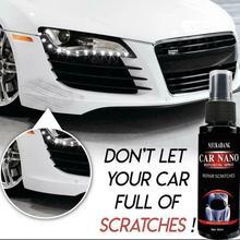 60ML Car Nano Repairing Spray Oxidation Liquid Ceramic Coat Agent Super Hydrophobic Car Scratch Repairer Polish Spray Paint Care