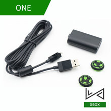 Rechargeable Batteries Cable For Xbox One Controller Charging Battery Kit Charger USB Cord