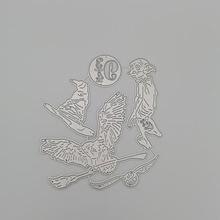 Металлические Вырубные штампы Волшебная Шляпа Сова вырезание
