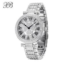 PB Watch Women Four-Leaf Clover Rotatable Dial Watches Women