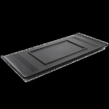 Взвешенный тяжелый черный чайник из камня Лодка Форма креативный чайный стол для кунгфу Чайный набор ручной работы поднос китайский слово ...