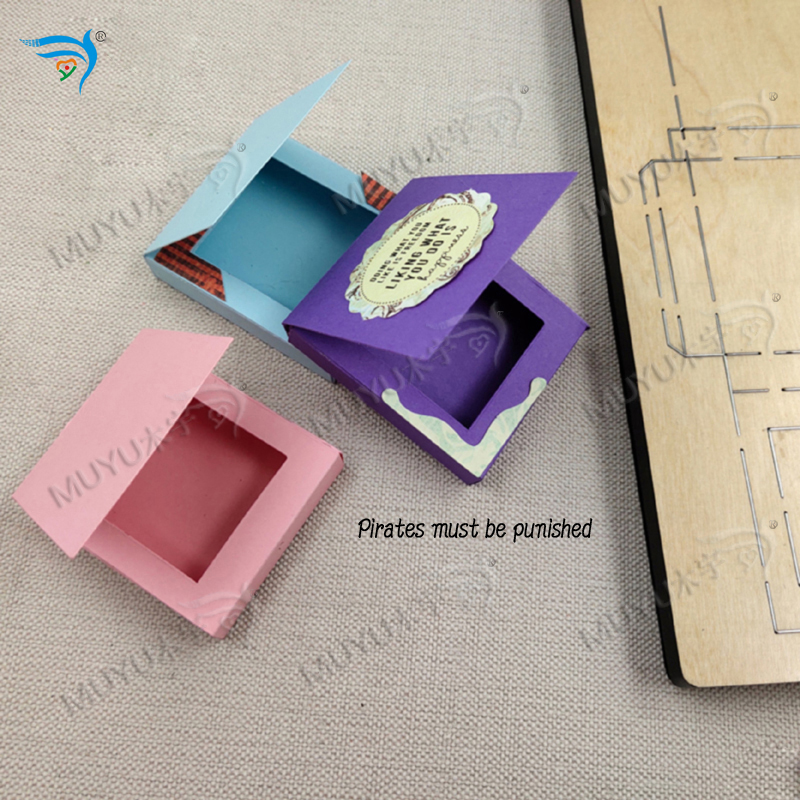Image 5 - chocolate sauce box muyu cutting die   new wooden mould cutting dies for scrapbooking MY7781Cutting Dies   -