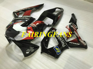Image 3 - Injection Fairing kit for HONDA CBR900RR 929 00 01 CBR 900 RR CBR 900RR 2000 2001 Red black Fairings bodywork+gifts HE33