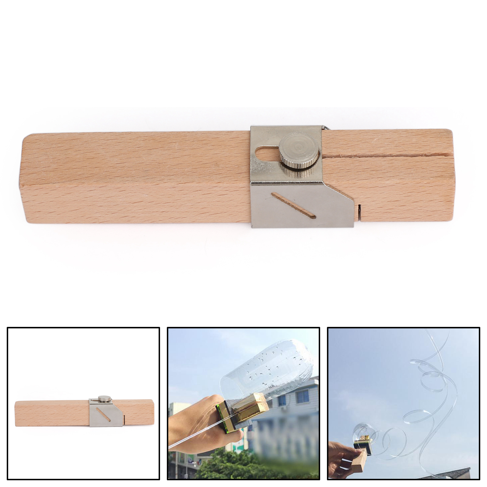 Areyourshop Portable Creative Plastic Bottle Cutter Outdoor Household Smart Bottles Rope Recycling DIY Tools