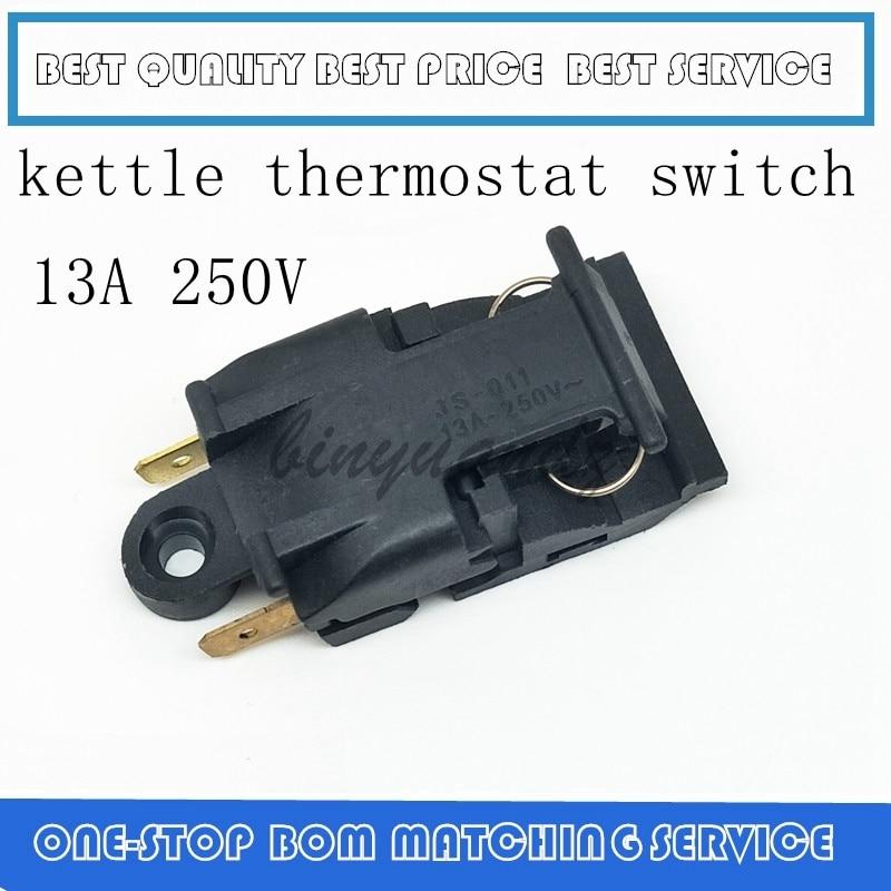 2PCS/LOT SL-888 TM-XE-3 XE-3 JB-01E 13A ZL-189-A Kettle Thermostat Switch 13A