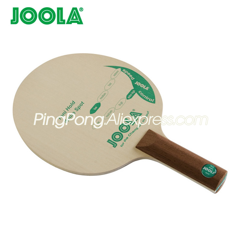 Joola TONI HOLD White Spot (Control & Chop, DEF, Soft) Table Tennis Blade Chop Racket Original JOOLA Ping Pong Bat / Paddle