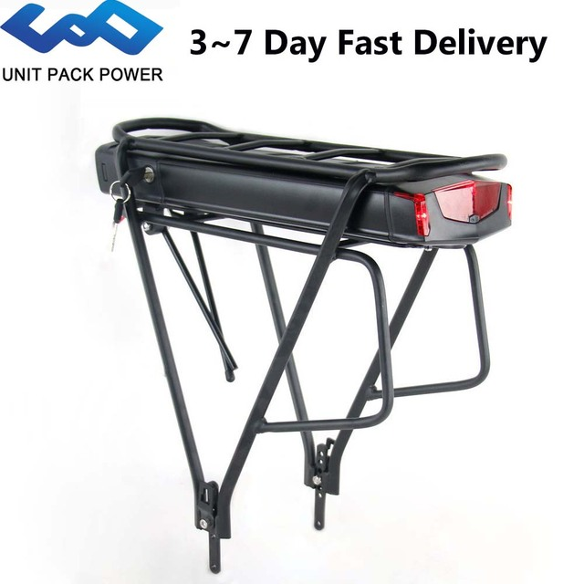 36V 17.5Ah סמסונג תא אחורי מתלה אופניים חשמליים סוללה עם 2 שכבות מטען עבור Bafang TSDZ2 500W 350W 250W eBike מנוע