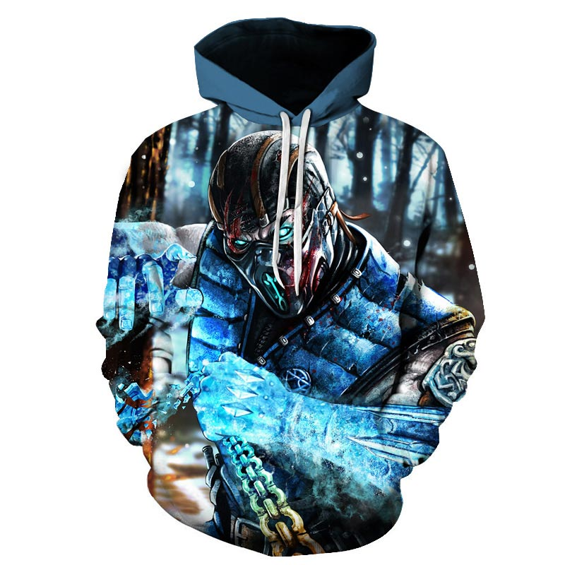 New Competitive Game 3D Hoodies Men/women Fashion Hot Game Stimulate 3D Print Men's Hoodies And Sweatshirt Hip Hop Clothing