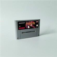 Ostateczna gra Fantasy II III IV V VI 2 3 4 5 6 lub Mystic Quest karta do gry RPG wersja EUR język angielski oszczędzanie baterii
